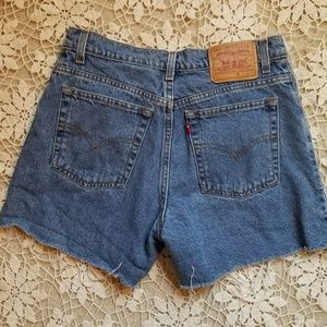 Levi's Cut Off Jean Shorts Ladies Size 10 Reg High